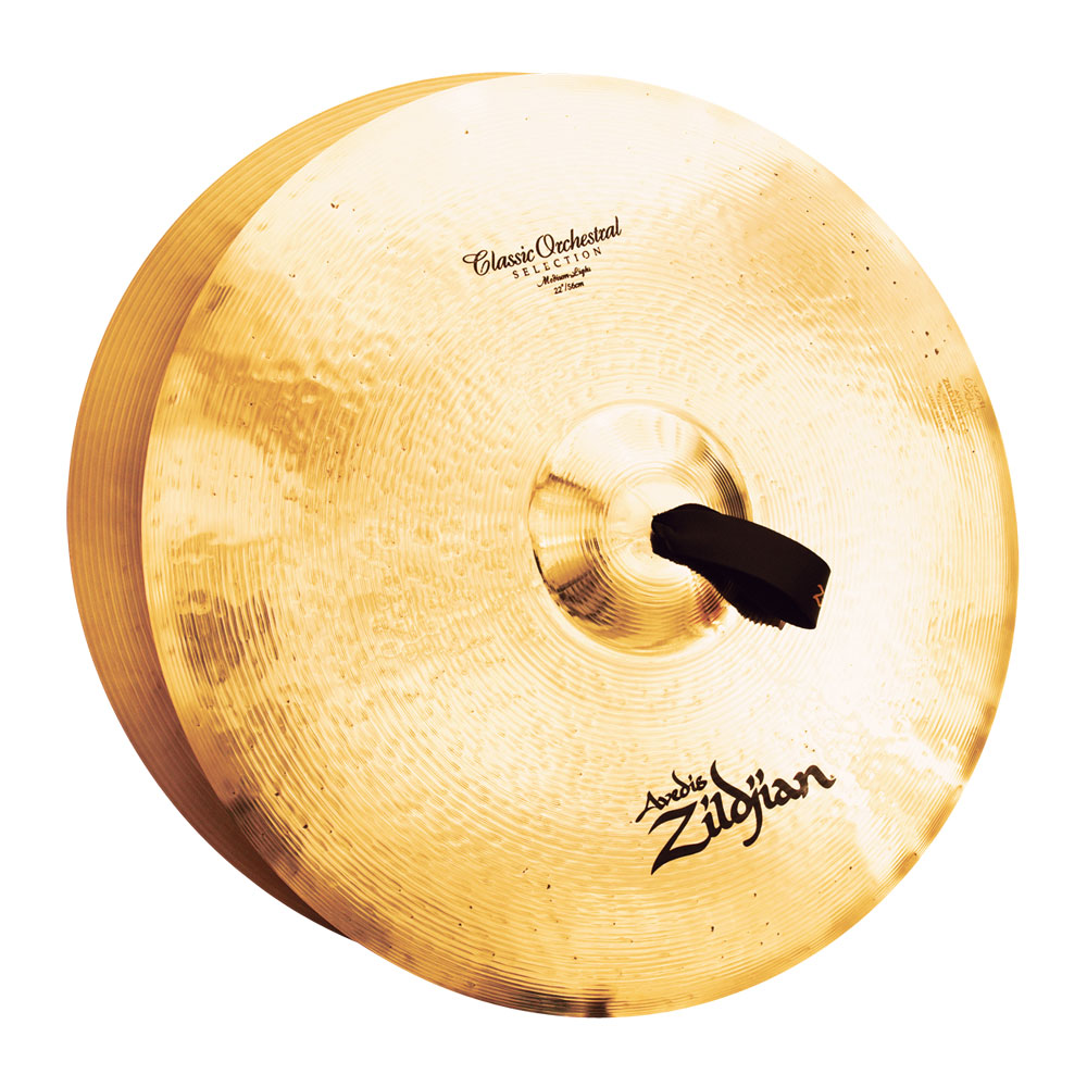 "Zildjian 22"" Classic Orchestral Selection Medium-Light Crash Cymbal Pair"