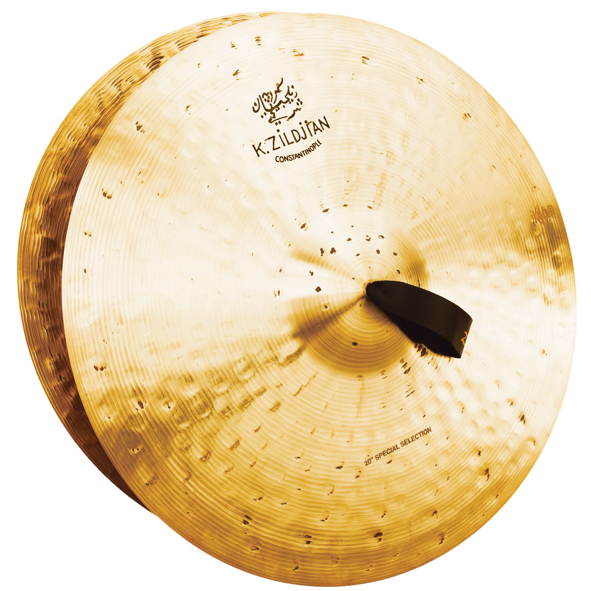"Zildjian 20"" K Constantinople Special Selection Medium-Heavy Orchestral Crash Cymbal Pair"