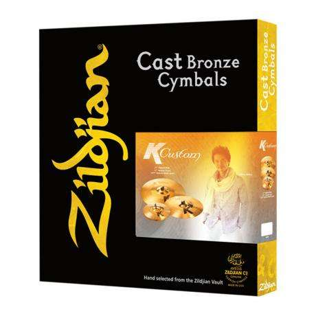 Zildjian K Custom Hybrid 3-Piece Cymbal Box Set (Hi Hats, Crash, Ride)