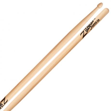 Zildjian Super 5A Wood Natural Drumsticks