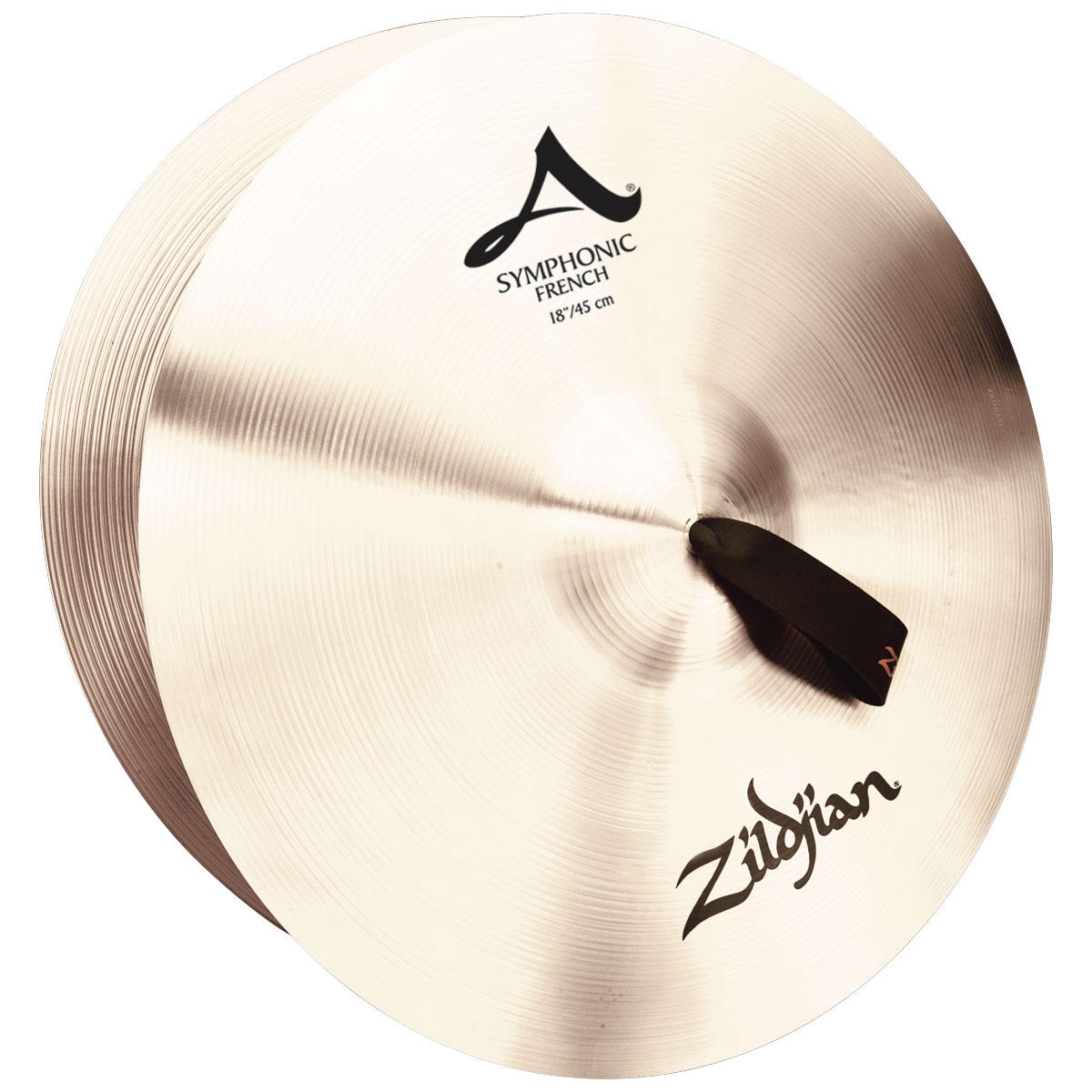 "Zildjian 18"" Symphonic French Crash Cymbal Pair"
