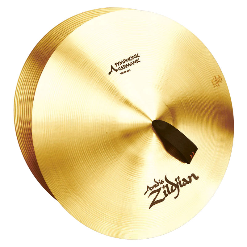 "Zildjian 18"" Symphonic Viennese Single Crash Cymbal"