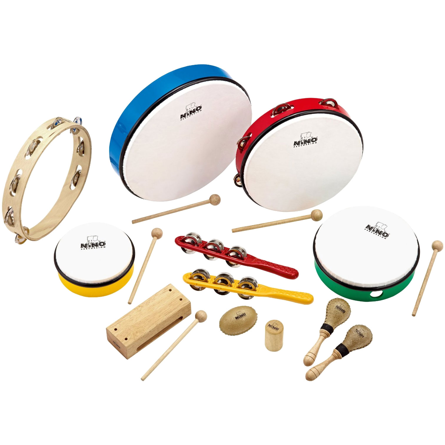 Meinl Nino 12 Piece Rhythm Set