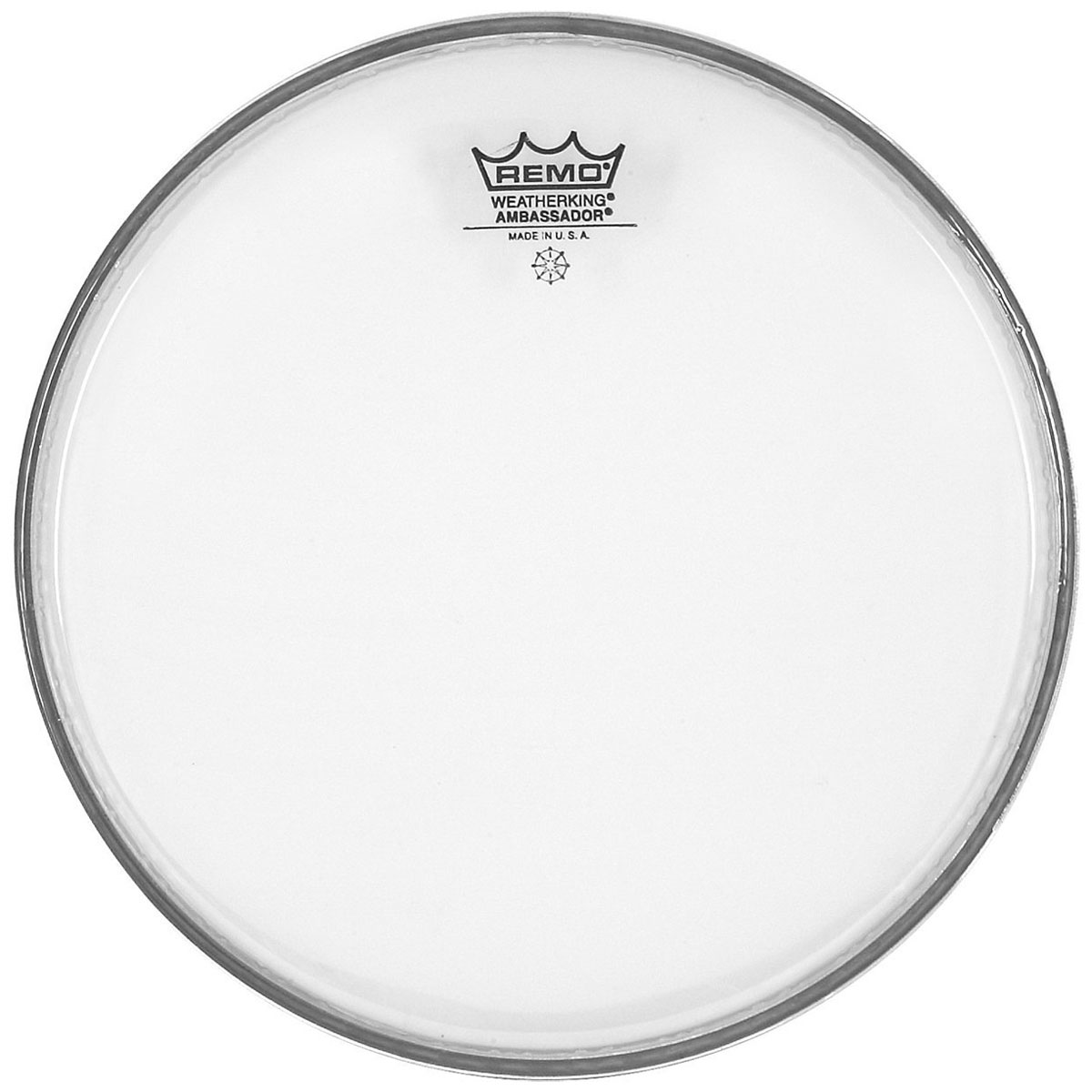 "Remo 13"" Clear Ambassador Hazy Snare Bottom Head"
